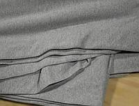 Футер двунитка с начесом светло- серая меланж (220см, Турция)