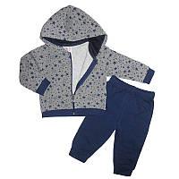 Костюм для девочки на байке (74-92) 2-ка штаны и кофта  арт.9265