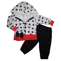 Костюм для девочки 74-92 2-ка штаны + кофта  арт.1055