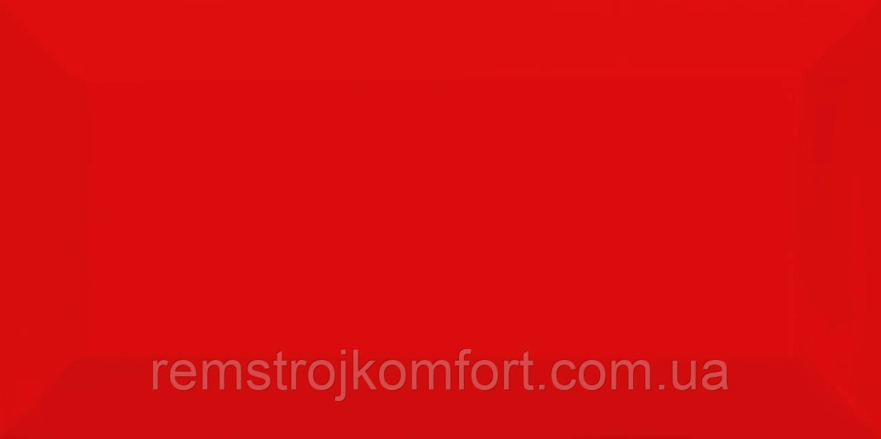 Плитка для стены Metrotiles red 100X200