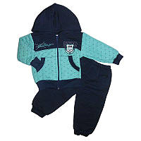 Костюм для мальчика 1-3года (80-98) кофта+штаны арт.747