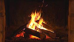 Панель огонь в камине 475 Вт керамическая КАМИН