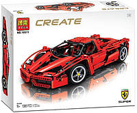 "Конструктор Decool 3333 (аналог Lego Technic 8145) ""Ferrari 599 GTB Fiorano "" 1322 деталей"