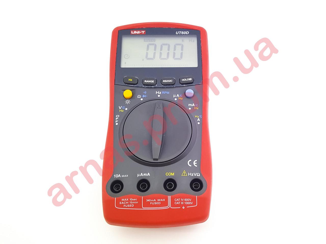 Мультиметр Uni-t UT60D цифровой