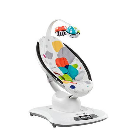 Електронний шезлонг-гойдалка 4moms MamaRoo Smart різнобарвна прокат в Харкові, фото 2