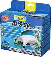 Компрессор TetraTec APS 50 для аквариума одноканальный белый
