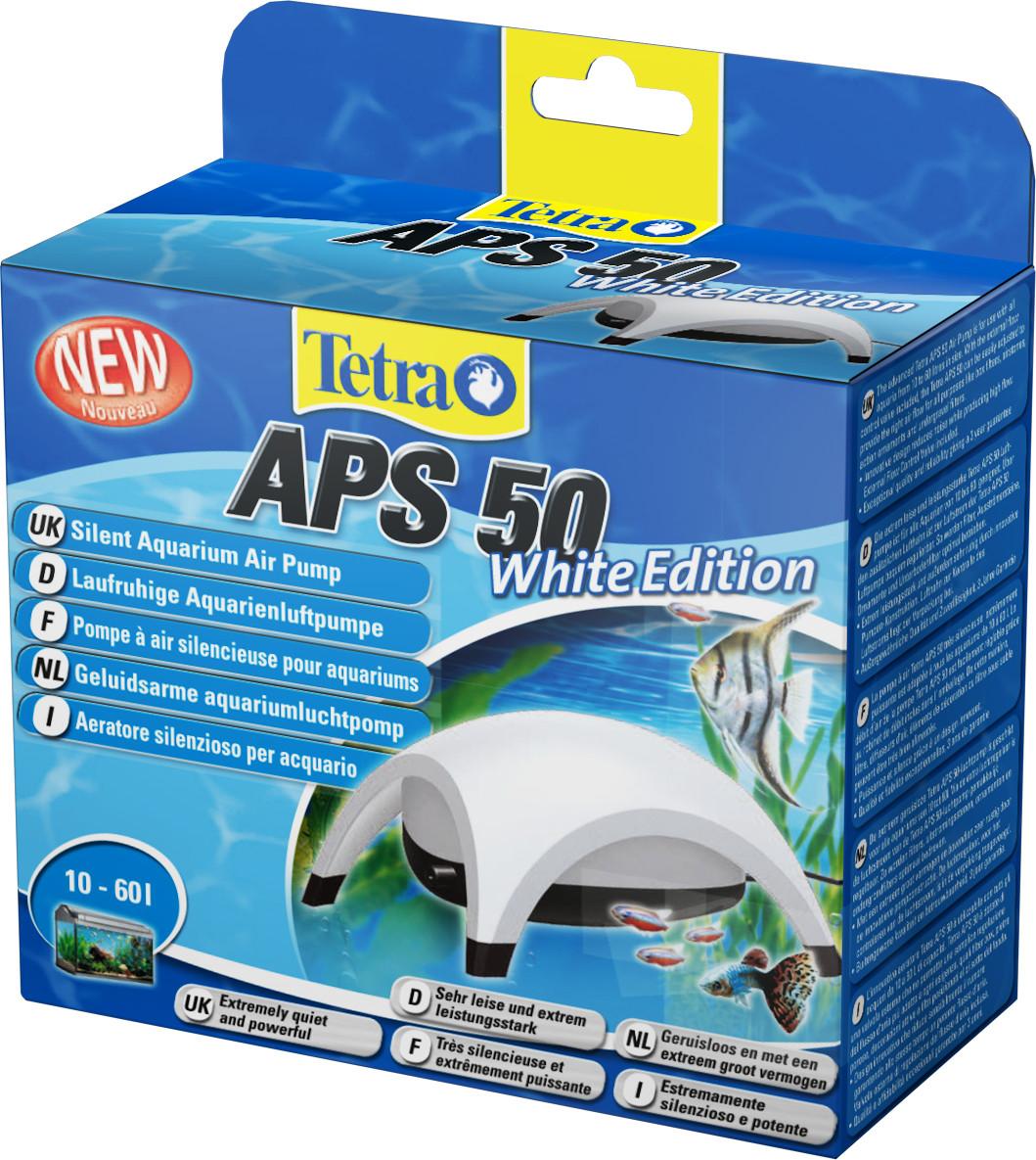 Компрессор TetraTec APS 50 для аквариума одноканальный белый - Интернет-зоомагазин Royal Zoo в Харькове