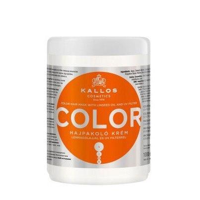 Маска KALLOS COLOR 1000 мл для забарвлених і пошкоджених волосся