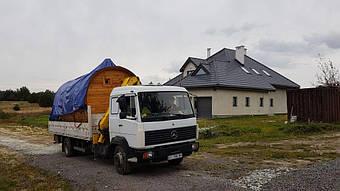 Отзыв и благодарность из Львова о деревянной бане-бочке. 1