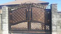 Кованые ворота 10001