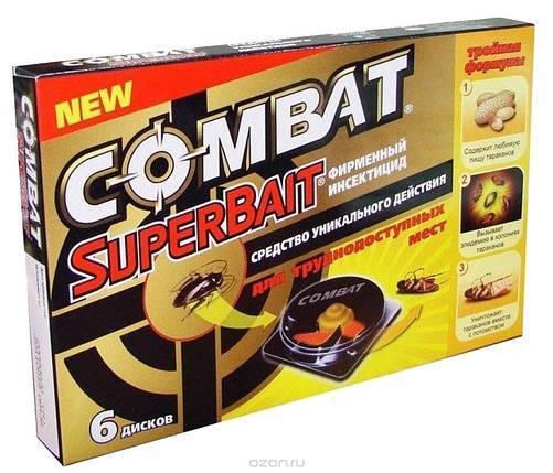 Ловушки для тараканов и муравьев (6шт) Combat/Комбат, фото 2