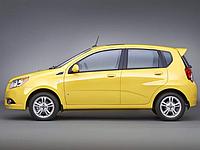 Авточехлы Chevrolet Aveo hatchback EMC Elegant