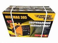 Сварочный инверторный полуавтомат KAISER MIG-305 2в1
