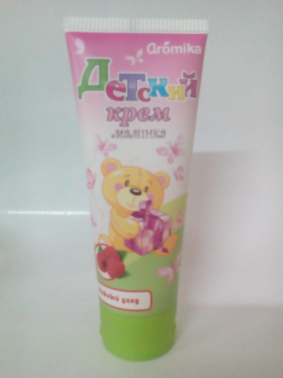 Детский крем Аромика Малинка 70г (2356)