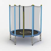 Батут Sapphire RINGO діаметром 140см (4ft) із зовнішньої сіткою
