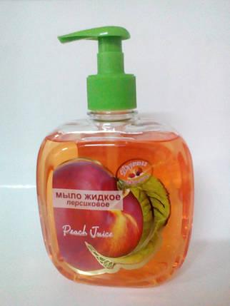 Гель мыло ПЕРСИК жидкое мыло 460мл, фото 2