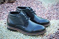 Стильные мужские зимние ботинки натур кожа Falcon, фото 1