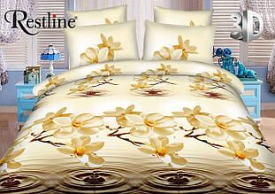 Модное постельное белье 3D ТЕП  RestLine «Фран Жипан»