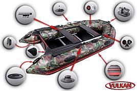 Лодка с надувным килем Вулкан VMK285(PS) камо купить в Харькове