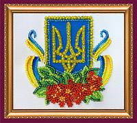 Набор-магнит для вышивки бисером «Калиновый край»