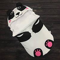 """Зимний конверт для новорожденного """"Панда"""""""