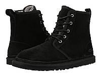 Зимние мужские ботинки угги UGG Australia (Угги Австралия Оригинал) замшевые черные
