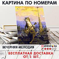 "Картина по номерам ""Вечерняя мелодия"" 40х50 см"