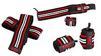 MEX Nutrition	Wrist Wraps	Red Black