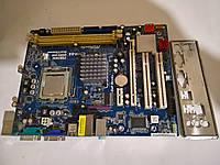 Материнская плата ASRock  G31M-GS+E5200  S775/QUAD