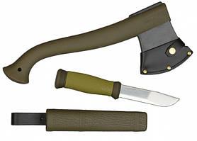 Набор Morakniv® Outdoor Kit - Olive Green //SE-HSM-ST-02