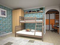 Двухъярусная кровать Комби 1