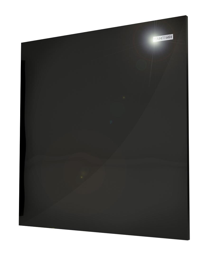 Керамическая панель с терморегулятором 475Вт черная КАМИН