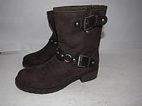 Craceland _Стильные современные ботинки утепленные _ 37р_ст.23.5см Н67