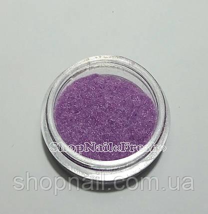 Бархат для дизайна ногтей, фиолетовый, фото 2