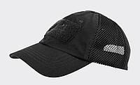 Бейсболка Vent - PolyCotton Ripstop - черная ||CZ-BBV-PR-01