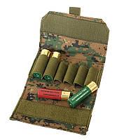 Патронташ для 6-ти патронов 12 кал. - Dig. Woodland||M51613002-DW