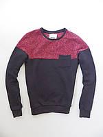 Свитшот Fabric свитер р-р S (сток, б/у) толстовка мужская водолазка