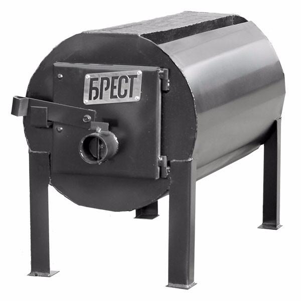 """Буржуйка для гаража, теплицы, дачи """"Брест-150"""""""