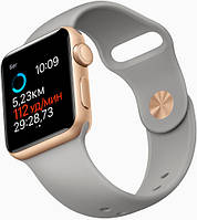 Ремень Apple Sport Band for Apple Watch 38mm (Light Grey)
