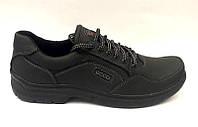 Мужские туфли ECCO больших размеров натуральная кожа (46-50 р-р) E0041