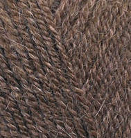 Alize Alpaca Royal №687 коричневый меланж