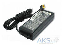 Блок питания для ноутбука Lenovo 20V, 4.5A, 90W, USB+pin (Square Yellow Pin DC Plug), black (ADLX90NLC3A) (без кабеля!) (оригинал)