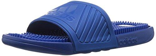 Массажные шлепанцы Adidas Performance Voolossage Blue, стелька 25 см
