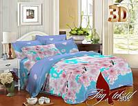 Комплект постельного белья ТМ TAG семейный, постельное белье семейное XHY1508