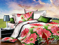 Комплект постельного белья ТМ TAG семейный, постельное белье семейное XHY020