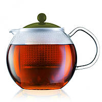Чайник заварочный с прессом Bodum Assam 1 л (зеленый)