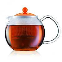 Чайник заварочный с прессом Bodum Assam 0.5 л (оранжевый)