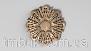 Розетка 6 - 60х60 - декоративная, фото 2
