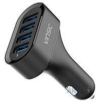 Зарядное устройство Vinsic Car Charger 4 USB Auto ID (VSCC401)