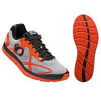 Беговая обувь PEARL IZUMI EM ROAD N2 v3, серый/красный, разм. 29.5см/EU46.0
